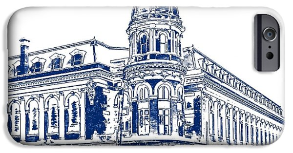 Shibe Park iPhone Cases - Shibe Park 2 iPhone Case by John Madison