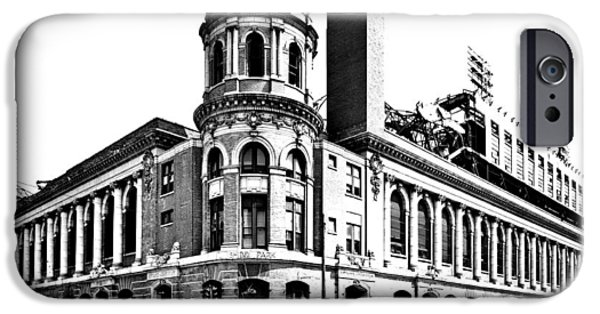 Shibe Park iPhone Cases - Shibe Park iPhone Case by Benjamin Yeager