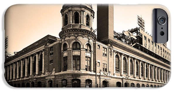 Shibe Park iPhone Cases - Shibe Park  iPhone Case by Bill Cannon