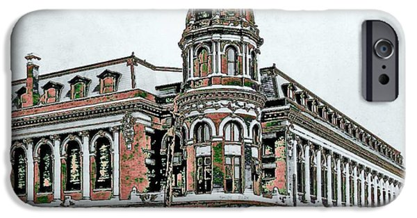 Shibe Park iPhone Cases - Shibe Park iPhone Case by John Madison