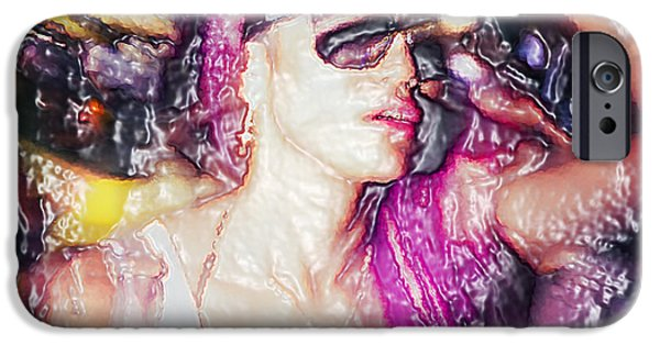 Young Digital Art iPhone Cases - Shibuya iPhone Case by Setsiri Silapasuwanchai