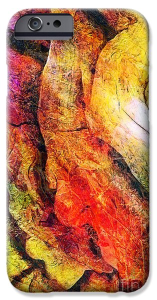 Macrocosm iPhone Cases - Shift iPhone Case by Donika Nikova