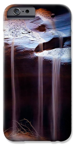 Cavern iPhone Cases - Shifting Sands iPhone Case by Dave Bowman