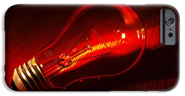 Close Up Glass iPhone Cases - Shimmer iPhone Case by Tom Druin