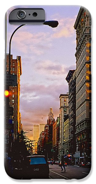 Twin Towers Nyc iPhone Cases - Shine On iPhone Case by Joann Vitali