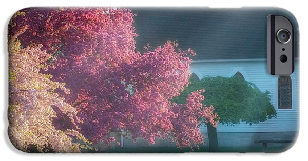 Art By God iPhone Cases - Shine The Light On Me Square iPhone Case by Bill  Wakeley