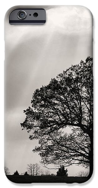 Shining Down iPhone Case by JC Findley