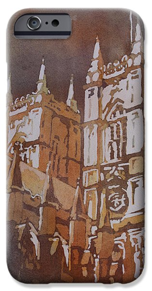 Winter Light iPhone Cases - Shining Out of the Rain iPhone Case by Jenny Armitage