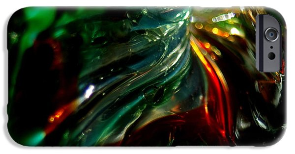 Close Glass iPhone Cases - Shining Through the Glass iPhone Case by Kitrina Arbuckle