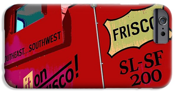 Industry iPhone Cases - Ship It On The Frisco iPhone Case by Deena Stoddard
