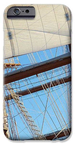 Ship Rigging iPhone Case by Carlos Caetano