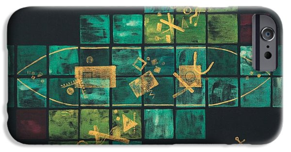 Pirate Ships Paintings iPhone Cases - Shipwreck Debris Field iPhone Case by Diana Perfect