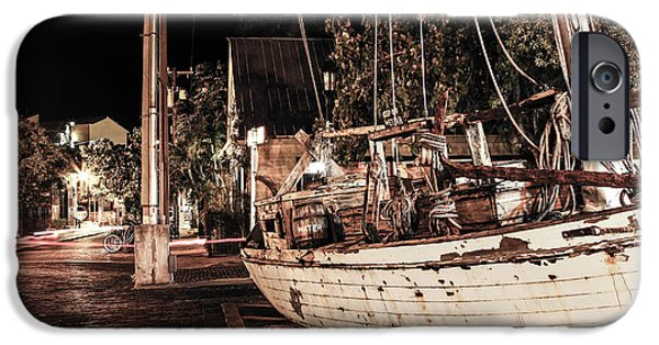 Recently Sold -  - Sailboat iPhone Cases - Shipwreck iPhone Case by Digital Kulprits