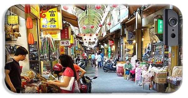 Buy Goods iPhone Cases - Shopping at the Zhongjie Dry Goods Market iPhone Case by Yali Shi