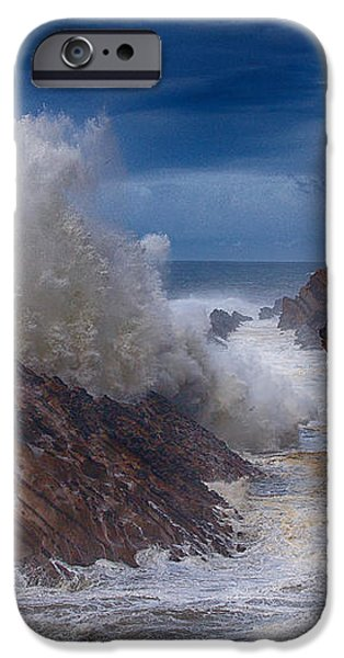 Shore Acre Storm iPhone Case by Darren  White