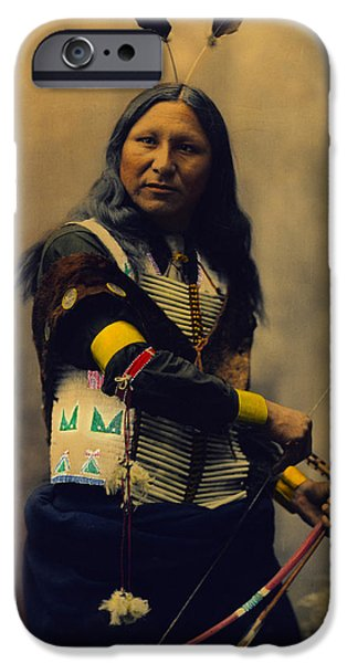 Shout At Oglala Sioux  iPhone Case by Heyn Photo
