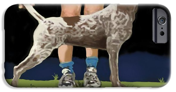 Owner iPhone Cases - Show Day In Chestertown iPhone Case by Marjorie Weiss