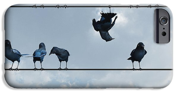 Birds iPhone Cases - Show Off iPhone Case by Cynthia Decker