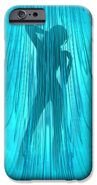 Showertime iPhone Case by Giada Rossi