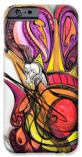 Showstopper iPhone Case by Vivianne Maloney