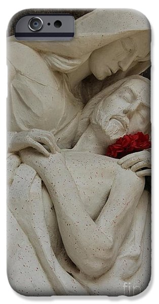 Prescott iPhone Cases - Shrine St. Joseph Yarnell Fire Arizona in honor of 19 Hotshots iPhone Case by Diane  Greco-Lesser
