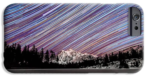 Epic iPhone Cases - Shuksan Past Midnight iPhone Case by Ryan McGinnis