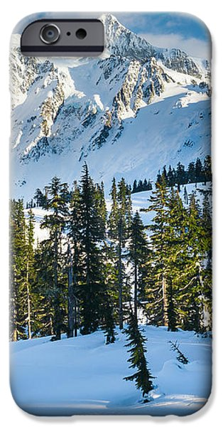 Shuksan Winter Paradise iPhone Case by Inge Johnsson