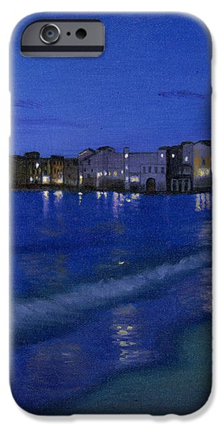 Sicilian Sunset iPhone Case by Cecilia  Brendel