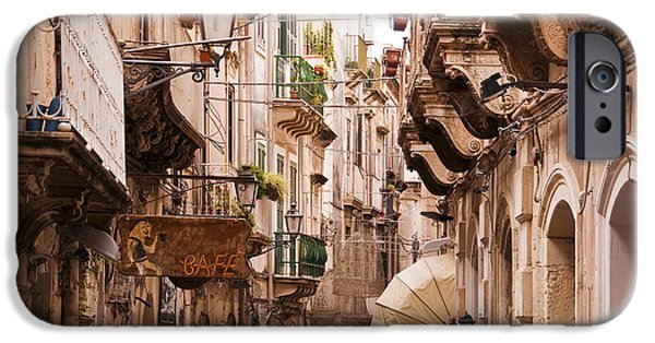 Balcony iPhone Cases - Sicily iPhone Case by Delphimages Photo Creations