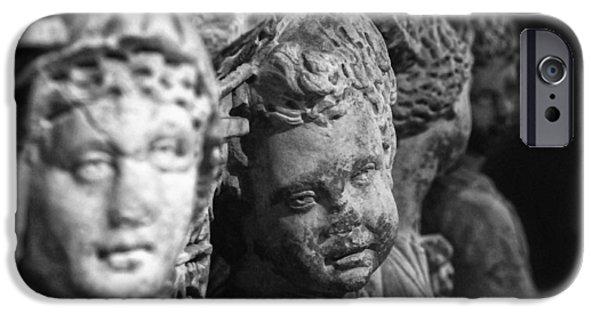 Zeus iPhone Cases - Sidamara sarcophagus iPhone Case by Taylan Soyturk