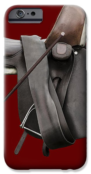 Sidesaddle and Crop iPhone Case by Linsey Williams