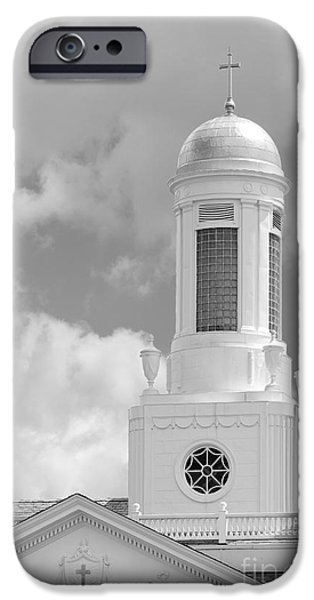 Siena College Siena Hall Cupola iPhone Case by University Icons