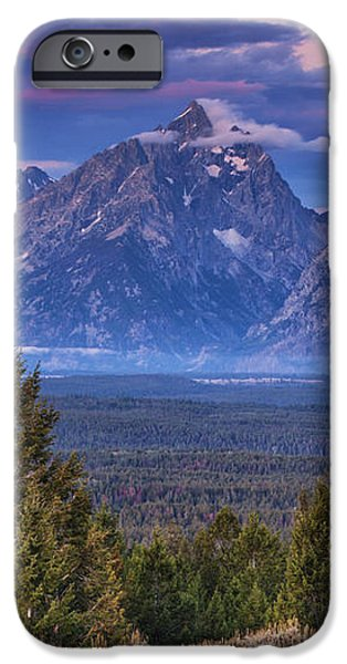 Signal Mountain Sunrise iPhone Case by Mark Kiver