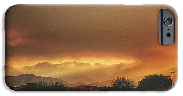 Fiery iPhone Cases - Signs iPhone Case by Laurie Search