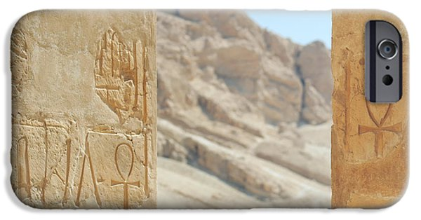 Thebes iPhone Cases - Signs of life.. iPhone Case by A Rey