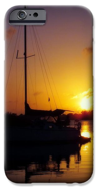 SILENCE of NIGHT iPhone Case by KAREN WILES