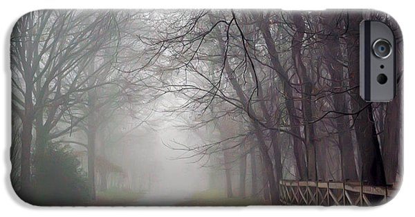 Overhang iPhone Cases - Silence Of The Limbs iPhone Case by Brian Wallace