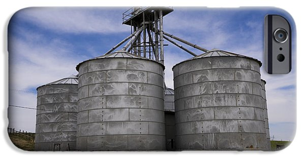 Stainless Steel iPhone Cases - Silence of the Silos iPhone Case by Nina Prommer