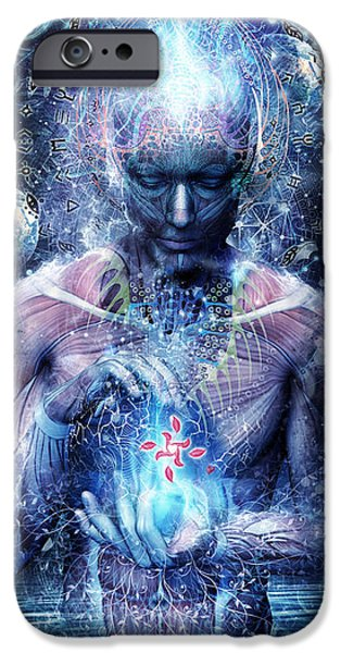 Spiritual iPhone Cases - Silence Seekers iPhone Case by Cameron Gray