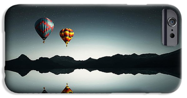 Above iPhone Cases - Silent iPhone Case by Bess Hamiti