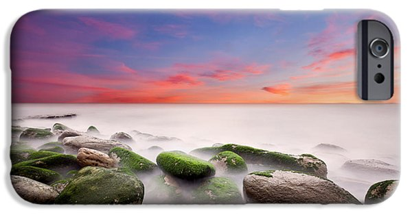 Waterscape Photographs iPhone Cases - Silent calling iPhone Case by Jorge Maia