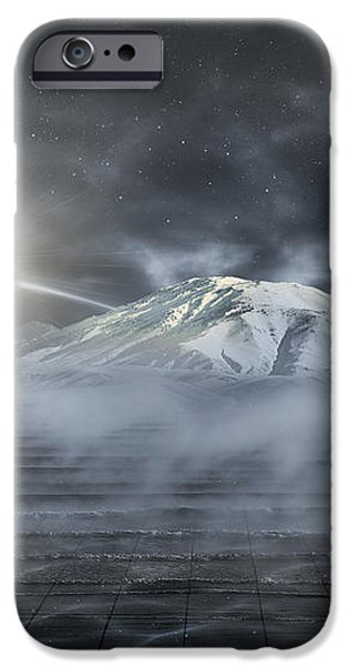 Silent Rise iPhone Case by Svetlana Sewell