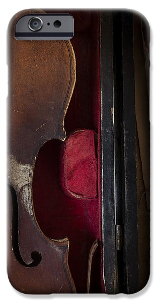 Old Sheet Music iPhone Cases - Silent Sonata iPhone Case by Amy Weiss