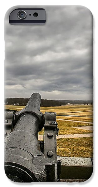 Silent Vigil at Gettysburg iPhone Case by Mountain Dreams