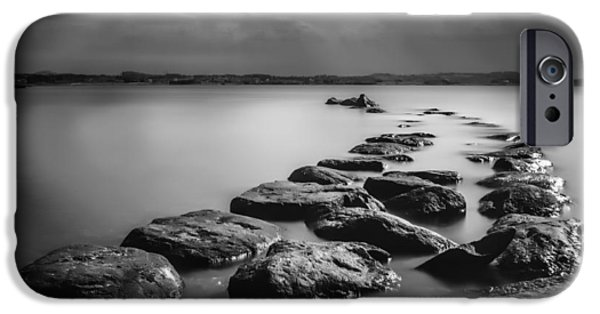 Creek Photographs iPhone Cases - Silent Water iPhone Case by Erik Brede