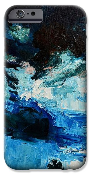 Silhouette of Nature II iPhone Case by Patricia Awapara