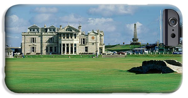 United iPhone Cases - Silican Bridge Royal Golf Club St iPhone Case by Panoramic Images