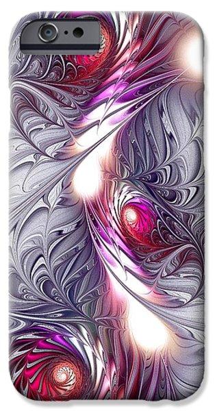 Silk iPhone Case by Anastasiya Malakhova
