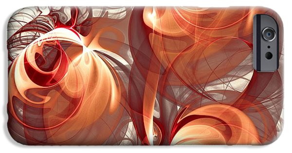 Recently Sold -  - Power iPhone Cases - Silk Labyrinth iPhone Case by Anastasiya Malakhova