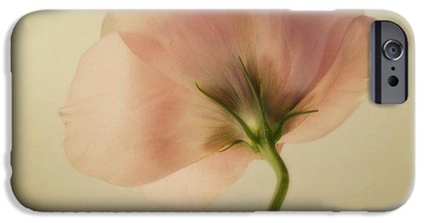 Close Up Floral iPhone Cases - Silk iPhone Case by Priska Wettstein